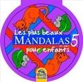 Macro Editions - Les plus beaux mandalas pour enfants - Volume violet 5.