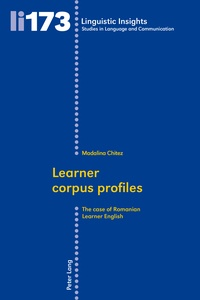 Madalina Chitez - Learner corpus profiles - The case of Romanian Learner English.