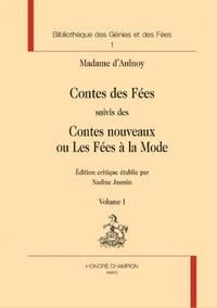 Madame d'Aulnoy - Contes des Fées suivis des Contes nouveaux ou Les Fées à la Mode - Pack en 2 volumes.