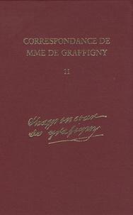 Madame de Graffigny - Correspondance de Madame de Graffigny - Tome 11, 2 juillet 1750 - 19 juin 1751 Lettres 1570-1722.