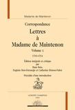Madame de Maintenon - Lettres à Madame de Maintenon - Volume 10, 1710-1714.