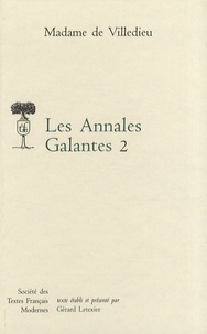 Histoiresdenlire.be Les Annales Galantes - Tome 2 Image