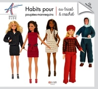 Maddy Eldé - Habits pour poupées-mannequins au tricot et crochet - 24 modèles.