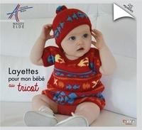 Maddy Eldé - Layettes pour mon bébé au tricot - 23 modèles.