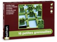 Madec herve Le et Virginie Chiodo - 16 petites grenouilles.