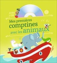 Madeleine Brunelet - Mes premières comptines avec les animaux. 1 CD audio