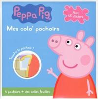 Rhonealpesinfo.fr Mon colo' pochoirs Peppa pig - Avec 45 stickers, 4 pochoirs + des belles feuilles Image