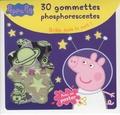 Madeleine C et Neville Astley - Peppa Pig - 30 gommettes phosphorescentes.