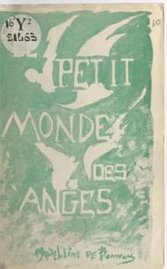 Madeleine de Bonnay - Le petit monde des anges.