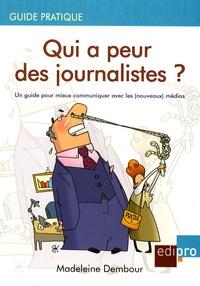 Histoiresdenlire.be Qui a peur des journalistes ? - Un guide pour mieux communiquer avec les (nouveaux) médias Image