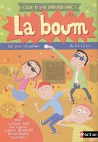 Madeleine Deny et  Pronto - La boum - Kit pour 10 enfants de 6 à 12 ans.