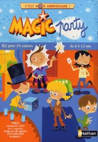 Madeleine Deny - Magic party - Kit pour 10 enfants de 6 à 12 ans.