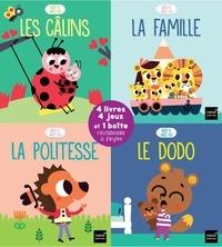 Madeleine Deny - Mon coffret Répète après moi - Les câlins ; La famille ; La politesse ; Le dodo.