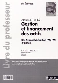 Activités 5.1 et 5.2 Gestion et financement des actifs BTS Assistant de Gestion PME-PMI 2e année - Livre du professeur.pdf