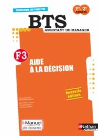 Madeleine Doussy et Jean-Pierre Cluniat - Aide à la décision F3 BTS Assistant de manager 1e & 2e années.