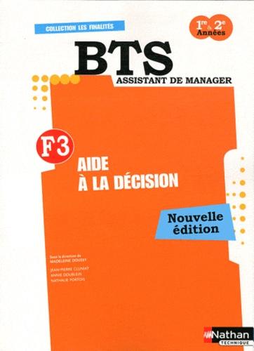 Madeleine Doussy - Aide à la décision F3 BTS assistant de manager 1re & 2e années.