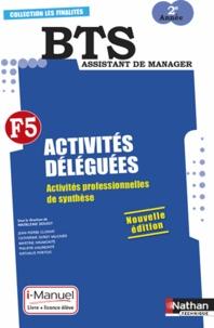 Madeleine Doussy - BTS assistant de manager 2e année - Activités déléguées - Activités professionnelles de synthèse.