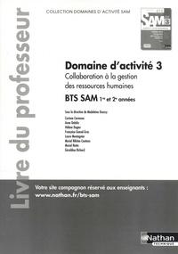 Collaboration à la gestion des ressources humaines Domaine dactivité 3 BTS SAM 1e et 2e années - Livre du professeur.pdf