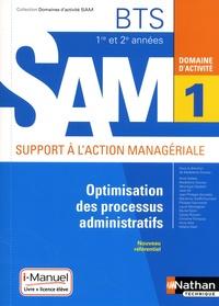 Madeleine Doussy - Domaine d'activité SAM 1 Optimisation des processus administratifs BTS 1re et 2e années.