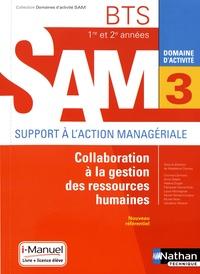 eBooks Amazon Domaine d'activité SAM 3 Collaboration à la gestion des ressources humaines BTS 1re et 2e années 9782091650432 iBook DJVU PDF par Madeleine Doussy
