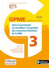 Madeleine Doussy - Gérer le personnel et contribuer à la gestion des ressources humaines de la PME BTS 2e année - Domaine d'activité 3.