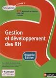 Madeleine Doussy et Jean-Pierre Cluniat - Gestion et développement des ressources humaines, Activité 3, BTS assistant de Gestion PME-PMI 2e année, Les Activités - i-Manuel, Livre + licence élève.