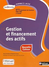 Satt2018.fr Gestion et financement des actifs, Activités 5.1-5.2, BTS Assistant de Gestion PME-PMI 2e année, Les Activités - i-Manuel, Livre + licence élève Image