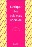Madeleine Grawitz - Lexique des sciences sociales.