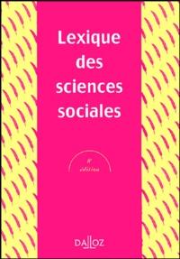 Ucareoutplacement.be Lexique des sciences sociales Image