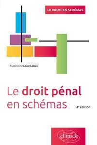 Madeleine Lobé Lobas - Le droit pénal en schémas.