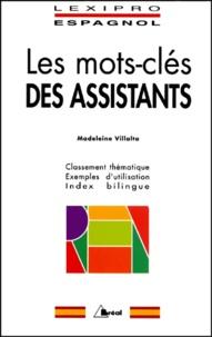 Les mots-clés des assistants. Classement thématique, exemples dutilisation, index bilingue.pdf