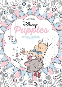 Disney Puppies- 60 coloriages anti-stress -  Mademoiselle Eve |