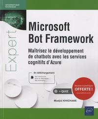 Openwetlab.it Microsoft Bot Framework - Maîtrisez le développement de chatbots avec les services cognitifs d'Azure Image
