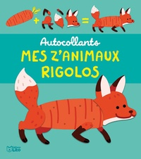 Maëlle Cheval - Mes z'animaux rigolos - Le renard.