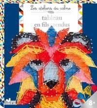 Deedr.fr Tableaux en fils tendus - Avec 8 échevettes de fils, 300 clous, 1 outil Image