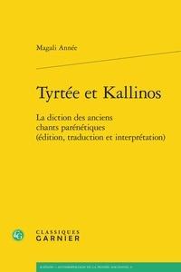 Goodtastepolice.fr Tyrtée et Kallinos - La diction des anciens chants parénétiques (édition, traduction et interprétation) Image
