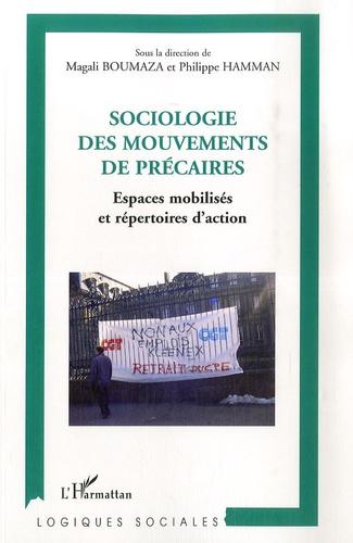 Magali Boumaza - Sociologie des mouvements de précaires - Espaces mobilisés et répertoires d'action.
