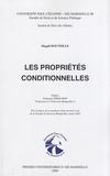 Magali Bouteille - Les propriétés conditionnelles.