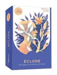 Magali Cazo - Eclore : développer sa créativité par le dessin - Avec 52 cartes + un livret.