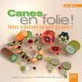 Magali Chauveau et Nathalie Turle-Durang - Canes en folie ! - Idées créatives en pâte polymère.