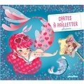 Magali Fournier - Cartes à pailleter Sirènes - Avec un stylet malin double embout.