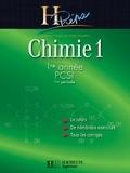 Magali Giacino et Alain Jaubert - Chimie 1 1re année PCSI (1re période) - edition 2003.