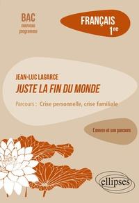 """Magali Rabot - Français 1re - Jean-Luc Lagarce, Juste la fin du monde, parcours """"Crise personnelle, crise familiale""""."""