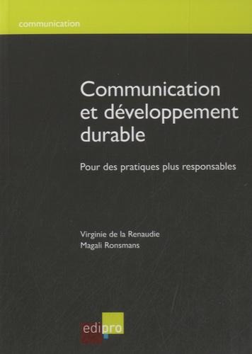 Magali Ronsmans - Communication et développement durable - Pour des pratiques plus responsables.