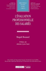 Magali Roussel - L'évaluation professionnelle des salariés.