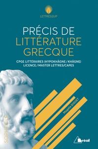 Magalie Diguet - Précis de littérature grecque.
