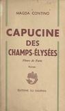 Magda Contino - Capucine des Champs-Élysées - Fleurs de Paris.