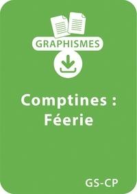 Magdalena Guirao-Jullien - Graphismes  : Graphismes et comptines GS/CP - Féerie - Un lot de 6 fiches à télécharger.