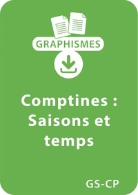 Magdalena Guirao-Jullien - Graphismes  : Graphismes et comptines GS/CP - Saisons et temps - Un lot de 11 fiches à télécharger.