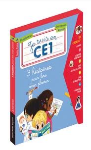Magdalena - Je suis en CE1  : 3 histoires pour lire avec plaisir - Premier jour de classe ; A la bibliothèque ; La photo de classe.